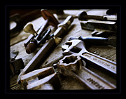 Tools Prints - Tools Print by Robert R Sanders
