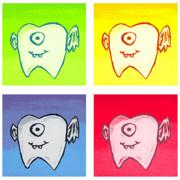 Tooth Fairies Print by Jera Sky
