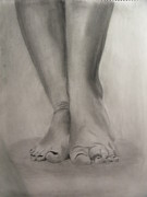 Tootsies Print by Leigha Sherman