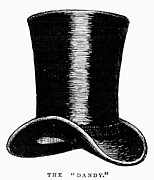 Black Top Posters - TOP HAT, c1870s Poster by Granger