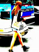 Funk Digital Art Prints - Top Model in Manhattan Print by Funkpix Photo  Hunter