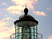 Top Of Bonita Lighthouse Print by Kathleen Struckle