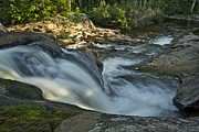 Michigan Waterfalls Prints - Top of the Dog 4191 Print by Michael Peychich