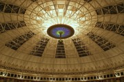 Atriums Framed Prints - Top of the Dome Framed Print by Sandy Keeton