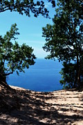 National Lakeshore Prints - Top of the Dune at Sleeping Bear ll Print by Michelle Calkins
