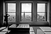 Gotham City Framed Prints - Top of the Rock Framed Print by Thomas Splietker