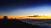 Observatories Prints - Top Of The World Print by Peter Chilelli