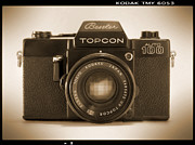 35mm Posters - Topcon Auto 100 Poster by Mike McGlothlen