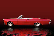 Photomanipulation Photo Prints - Topless Galaxie Print by Bill Dutting