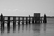 Topsail Island Photos - Topsail Beach Gov Access Pier by East Coast Barrier Islands Betsy A Cutler