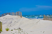 Topsail Island Photos - Topsail Dunes by East Coast Barrier Islands Betsy A Cutler