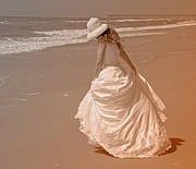 Topsail Island Photos - Topsail Gown by East Coast Barrier Islands Betsy A Cutler