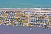 Topsail Island Photos - Topsail Island Sea Vista Motel by East Coast Barrier Islands Betsy A Cutler