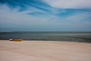 Topsail Island Photos - Topsail Kayak by East Coast Barrier Islands Betsy A Cutler