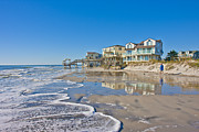 Topsail Island Photos - Topsail North End by East Coast Barrier Islands Betsy A Cutler