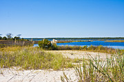 Topsail Island Photos - Topsail Sound by East Coast Barrier Islands Betsy A Cutler