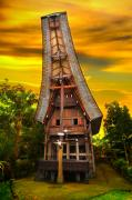 Featured Art - Toraja Architecture by Charuhas Images