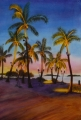 Islamorada Framed Prints - Torch Light Sunset Framed Print by Terry Arroyo Mulrooney