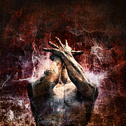 Photomanipulation Prints - Torment Print by Andrew Paranavitana