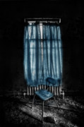 Chair Photo Metal Prints - Tormented In Grace Metal Print by Evelina Kremsdorf
