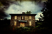 Abandoned Houses Photo Metal Prints - Torn and Tattered Metal Print by Emily Stauring