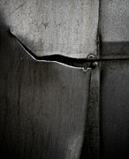 Abstracted Photo Metal Prints - Torn Curtain Metal Print by Odd Jeppesen