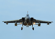 Clare Scott Prints - Tornado GR4 on the Approach Print by Clare Scott