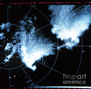 1983 Posters - Tornado Hook Echo Poster by Science Source