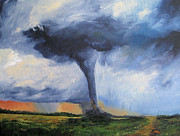 Tornado Prints - Tornado Print by Torrie Smiley