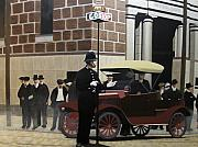 Model Originals - Toronto Traffic Cop 1912 by Kenneth M  Kirsch