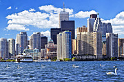 Toronto Photo Prints - Toronto waterfront Print by Elena Elisseeva