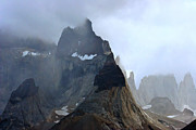 Tap On Photo Prints - Torres del Paine Print by Marcia Fontes Photography