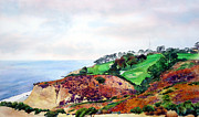 Pga Paintings - Torrey Pines North Course by Scott Mulholland