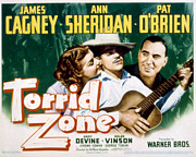 Lobbycard Prints - Torrid Zone, Ann Sheridan, James Print by Everett