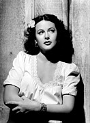 Book Flower Prints - Tortilla Flat, Hedy Lamarr, 1942 Print by Everett