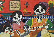 Tortillas Framed Prints - Tortillas Framed Print by Sonia Orban-Price