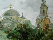 Moscow Paintings - Torzhok by Khromykh Natalia