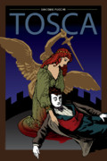 Tragedy Posters - Tosca Poster by Joe Barsin