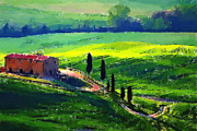 Toscana Paintings - Toscana by Stefan Kuhn