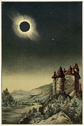 Stars Darkened Prints - Total Solar Eclipse Of 1842 Print by Detlev Van Ravenswaay