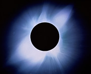 Solar Eclipse Framed Prints - Total Solar Eclipse Framed Print by Rev. Ronald Royer