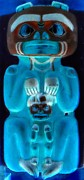 Native Art Digital Art - Totem 1 by Randall Weidner