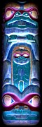 Native Art Digital Art - Totem 19 by Randall Weidner