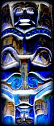 Native Art Digital Art - Totem 22 by Randall Weidner
