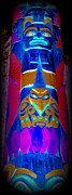 Native Art Digital Art - Totem 31 by Randall Weidner