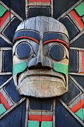 Haida Art - Totem Pole 16 by Bob Christopher