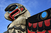 First Nations Prints - Totem Pole 2 Print by Bob Christopher