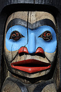 First Nations Prints - Totem Pole 3 Print by Bob Christopher