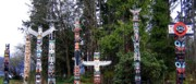 Ancestry Prints - Totem Poles Print by Will Borden