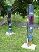 Environmental Sculptures - Totems by Kevan Krasnoff